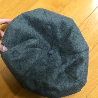 アースミュージックアンドエコロジー(earth music & ecology)のグレー ベレー帽(ハンチング/ベレー帽)