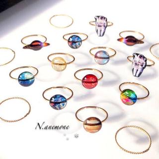 宇宙リング✴︎ ツイストリング 指輪セット(リング(指輪))