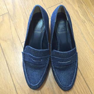 ランダ(RANDA)のランダ デニムローファー 23.5(ローファー/革靴)