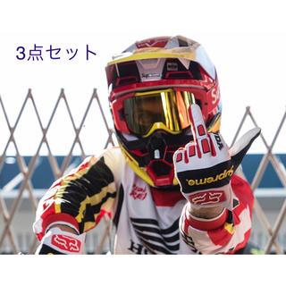 シュプリーム(Supreme)の格安 hrc supreme honda ヘルメット グローブ ゴーグル (ヘルメット/シールド)
