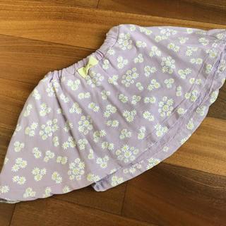 アースミュージックアンドエコロジー(earth music & ecology)のearth girlキュロットスカート 120センチ サイズ(パンツ/スパッツ)
