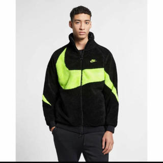 ナイキ(NIKE)のNIKE BIG SWOOSH BOA JACKET Msize BOLT(ブルゾン)