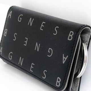 アニエスベー(agnes b.)のAGNES B. アニエスベー キーケース KW09-04 6連 ブラック(キーケース)