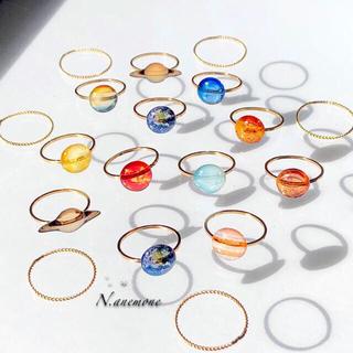 神秘の宇宙リング✴︎ ツイストリング 指輪セット(リング(指輪))