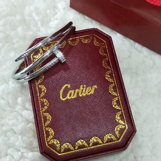 カルティエ(Cartier)の早い者勝ち Cartier カルティエ ブレスレット19cm 刻印 男女兼用(ブレスレット)