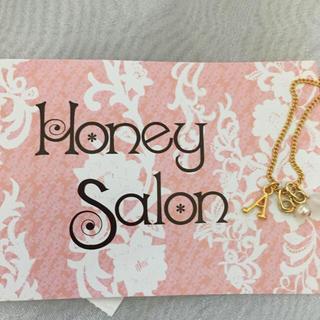 ハニーサロン(Honey Salon)のA イニシャルネックレス♡(ネックレス)