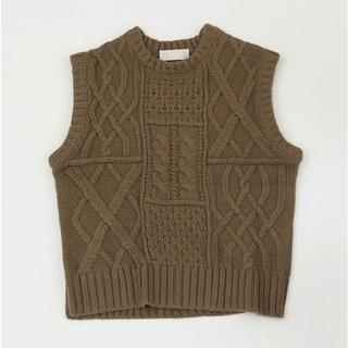 トゥデイフル(TODAYFUL)のTODAYFUL  Cable Knit Vest(ベスト/ジレ)