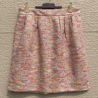 マッキントッシュフィロソフィー(MACKINTOSH PHILOSOPHY)のMACKINTOSH PHILOSOPHY スカート ツイード  38(ひざ丈スカート)