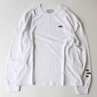 コモリ(COMOLI)のYOKE(ヨーク)18AW TAGGING TEE LONG SLEEVES(Tシャツ/カットソー(七分/長袖))