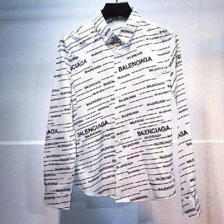 バレンシアガ(Balenciaga)の美品 BALENCIAGA 長袖シャツ男女兼用(シャツ)