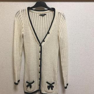 アーモワールカプリス(armoire caprice)のm by m ニットカーディガン(ニット/セーター)