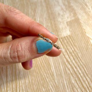 アーカー(AHKAH)のk10 ダイヤ 指輪 リング(リング(指輪))