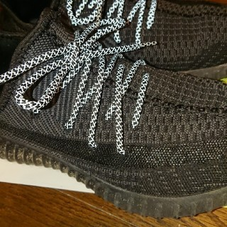 アディダス(adidas)のリフレクティブ  シューレース ブラック(その他)