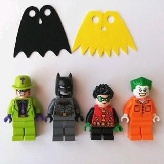 Lego - レゴ バットマン ロビン リドラー ジョーカー 4体 ミニフィグ ムービー