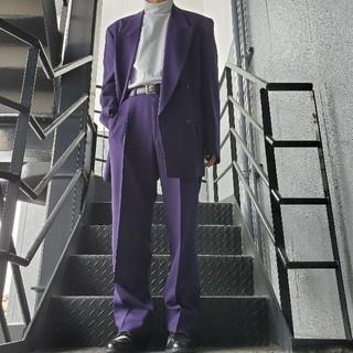 ジョンローレンスサリバン(JOHN LAWRENCE SULLIVAN)のヴィンテージ セットアップ ダブルスーツ パープル(セットアップ)