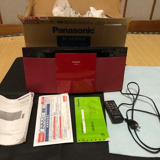 Panasonic - Panasonic SC-HC295-R レッド コンパクトステレオシステム