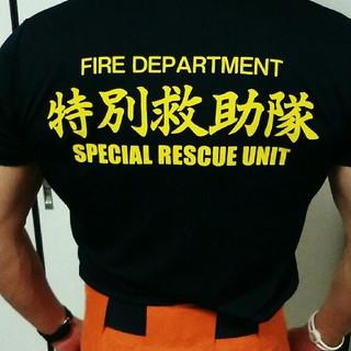 アンダーアーマー(UNDER ARMOUR)の【年末特売】消防士 Tシャツ カットソー Mサイズ(その他)