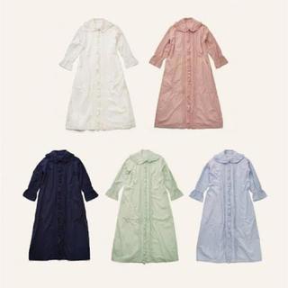 アトリエドゥサボン(l'atelier du savon)のmadder madder SMILE embroidery DRESS(ロングワンピース/マキシワンピース)