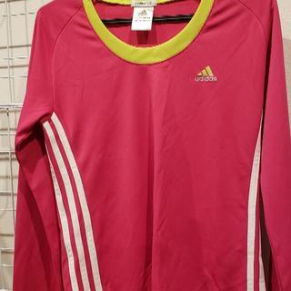 アディダス(adidas)のレディーススポーツウエア(Tシャツ(長袖/七分))