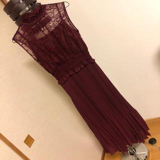 ラグナムーン(LagunaMoon)の🎉値下げ‼️ファッションレター ロングドレス(ロングドレス)