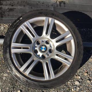 ビーエムダブリュー(BMW)のBMW 3シリーズ 純正17インチタイヤホイールセット(タイヤ・ホイールセット)
