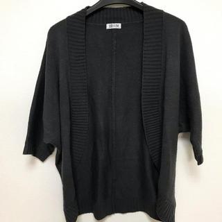 シマムラ(しまむら)のしまむら カーディガン ボレロ  BEGUM  グレー 灰色  M  セーター(カーディガン)