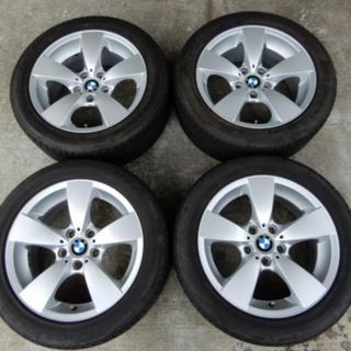ビーエムダブリュー(BMW)のBMW 5シリーズ 純正タイヤホイールセット(タイヤ・ホイールセット)