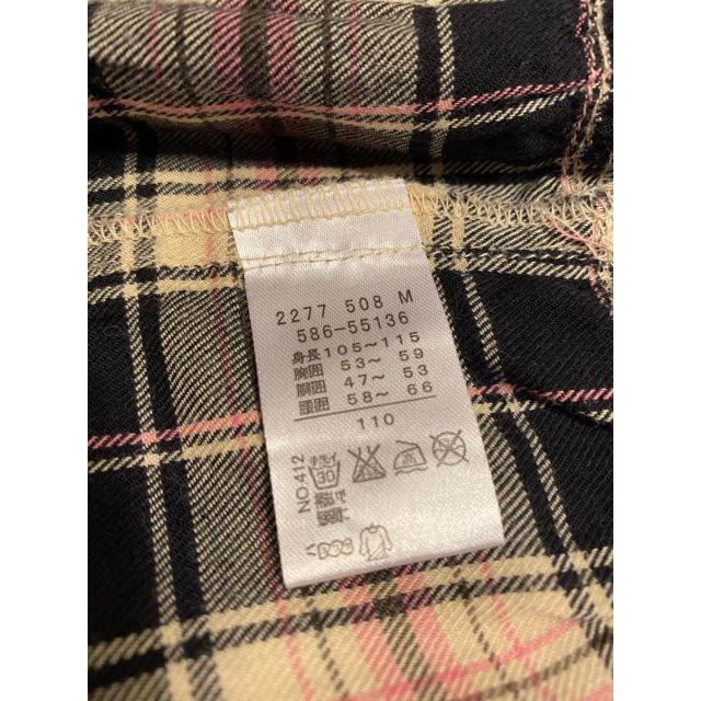 3can4on(サンカンシオン)の3can4on✳︎チェックワンピース【110cm】 キッズ/ベビー/マタニティのキッズ服 女の子用(90cm~)(ワンピース)の商品写真