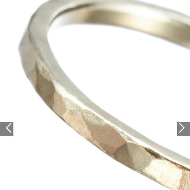 agete(アガット)のagete シャンパンゴールドピンキーリング レディースのアクセサリー(リング(指輪))の商品写真