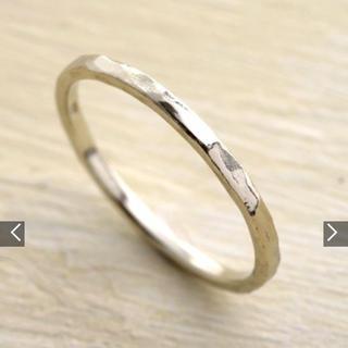 アガット(agete)のagete シャンパンゴールドピンキーリング(リング(指輪))