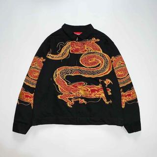 シュプリーム(Supreme)のSupreme 18aw dragon work jacket(ライダースジャケット)