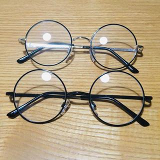 スリーコインズ(3COINS)の丸メガネ(サングラス/メガネ)