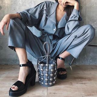 アリシアスタン(ALEXIA STAM)の【りい様専用】Juemi  Drape Jumpsuits(オールインワン)