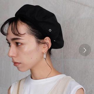 トゥデイフル(TODAYFUL)の新品未使用パイピングベレー帽(ハンチング/ベレー帽)