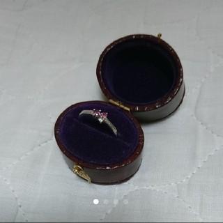 セイレンアズーロ ピンキーリング 特注品 ケース付き(リング(指輪))