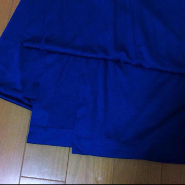 LE CIEL BLEU(ルシェルブルー)の【未使用】ルシェル ストール ブルー レディースのファッション小物(ストール/パシュミナ)の商品写真