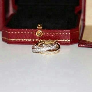 カルティエ(Cartier)のCartierカルティエ トリニティ スリーカラー 3連リング(リング(指輪))