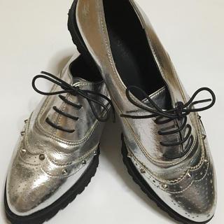 レディースヒモ革靴(ローファー/革靴)