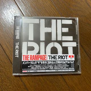 ザランページ(THE RAMPAGE)のTHE RAMPAGE アルバム THE RIOT CDのみ(ポップス/ロック(邦楽))