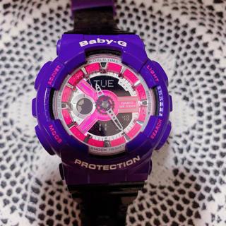 ベビージー(Baby-G)のBaby-G パープル(腕時計)