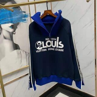 ルイヴィトン(LOUIS VUITTON)の人気【Louis Vuitton】LOUISプリンテッドマルチジップスウェット(スウェット)