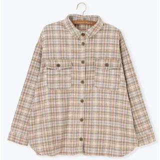 サマンサモスモス(SM2)のCPOシャツジャケット ベージュ チェック(その他)