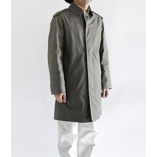 デッドストック 新品未使用 フランス軍 ステンカラーコート アウター コート(ステンカラーコート)