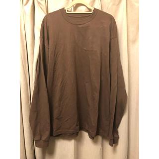 コモリ(COMOLI)の【O様専用】NOMAD 19AW ノマドオリジナル BIG Tシャツ(Tシャツ/カットソー(七分/長袖))