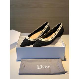 超美品 Diorフラットシューズ