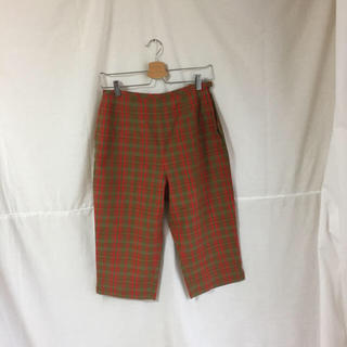 ロキエ(Lochie)のvintage check pants(カジュアルパンツ)