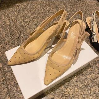 ディオール(Dior)の【Dior_ディオール】値下げ!新作!新品同様23.5cm☆美品☆靴底修正済み☆(ハイヒール/パンプス)