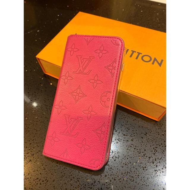 LOUIS VUITTON - ルイヴィトン☆マヒナ☆iPhone7plus・8plusケースの通販