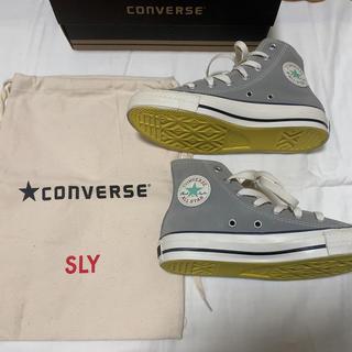 スライ(SLY)のSLY CONVERSEコラボスニーカー♥スエード生地(スニーカー)