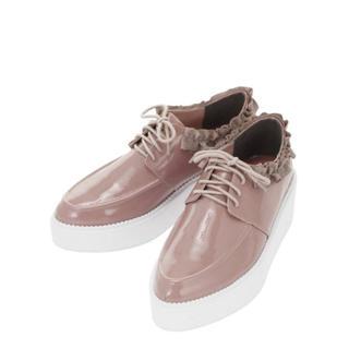 メリージェニー(merry jenny)のmerry jenny フリルオックスフォード(ローファー/革靴)